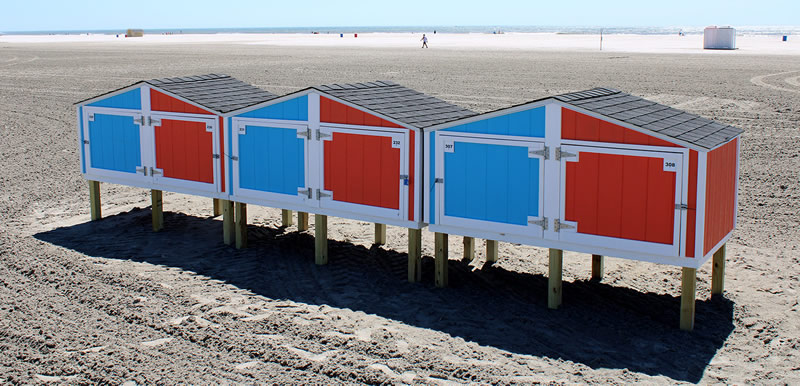 Wildwood Crest Beach Boxes