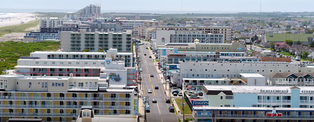 Hotels and Motels in Wildwood Crest New Jersey