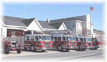 The Wildwood Crest Fire Department is located at 7100 Pacific Avenue.
